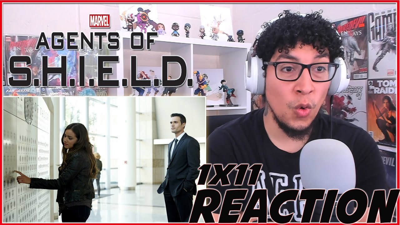 Download SHOCKING REVEAL! | Agents of Shield 1x12 REACTION!!! | Season 1 Episode 12