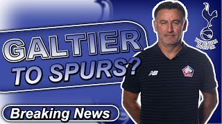 ... tottenham have approached lille over the availability of their manager christophe galtier, who