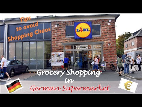 Download Grocery shopping in German Supermarket | Lidl | Prices, Tips, Easy German Translation | BB Vlogs