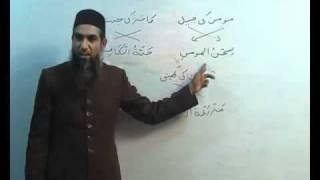 Arabi Grammar Lecture 12 Part 04     عربی  گرامر کلاسس