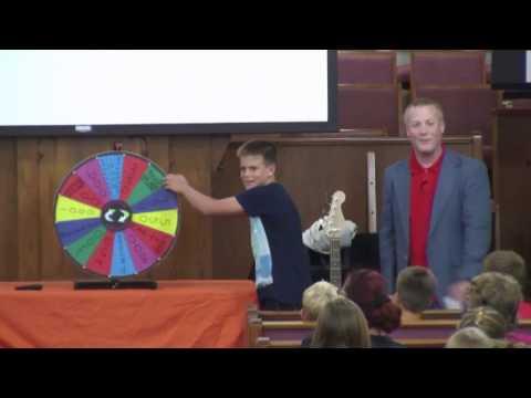 Christian Wheel of Fortune Jan. 30, 2017