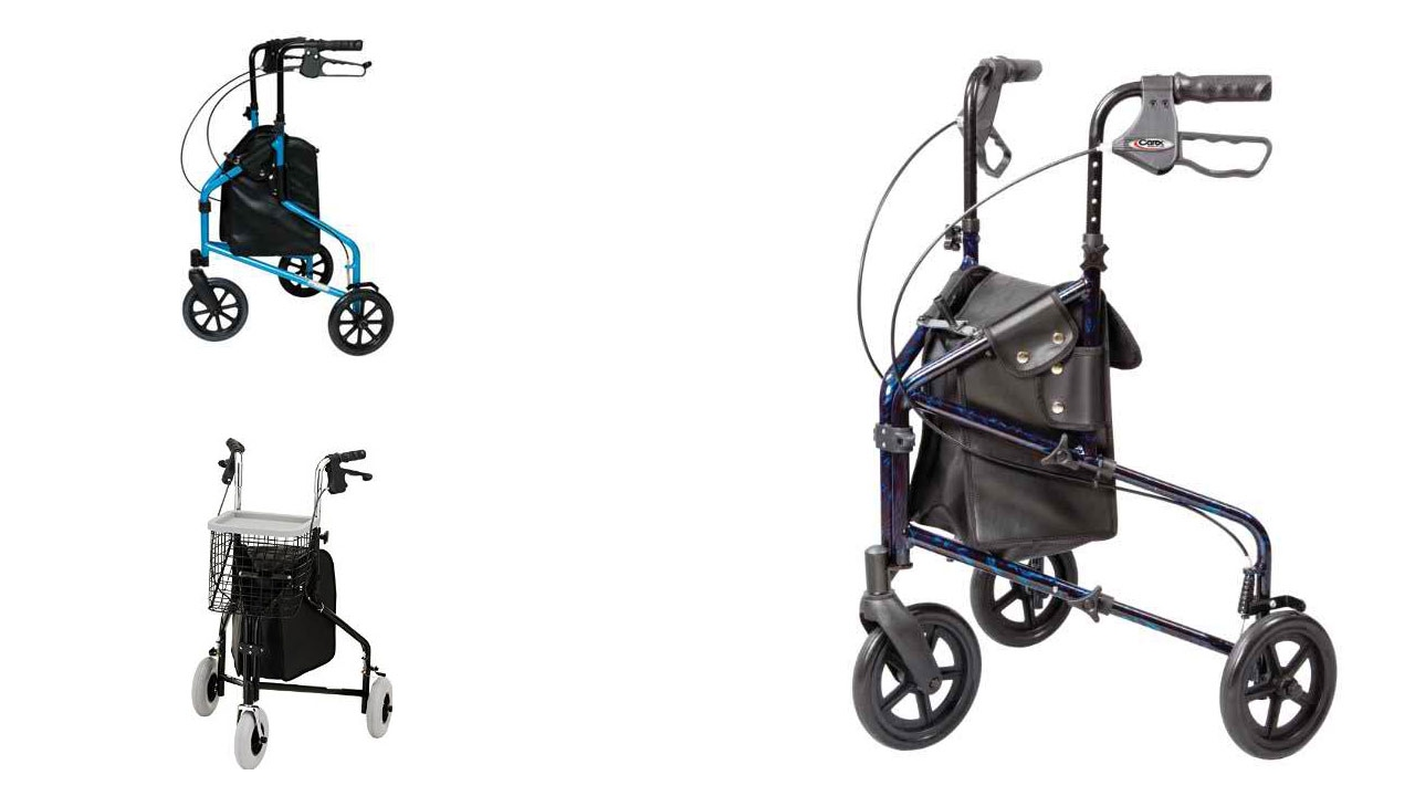Best 3 Wheel Walkers For Seniors 2018