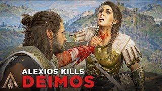 Alexios Kills Deimos (Boss Finale/Brutal Death Scene) - Assassin