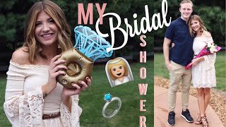 MY BRIDAL SHOWER! // Get Ready with Me | katiecreepzalot