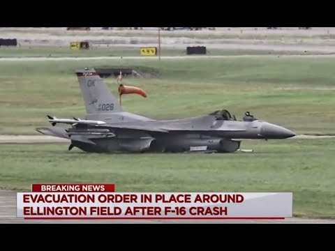 21 june 2017 / USAF / F-16 / 89-2028 / Fire on takeoff / Houston-Ellington Field base / USA
