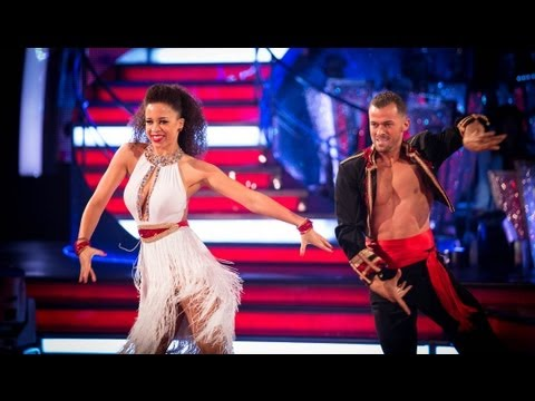 Natalie Gumede and Artem Cha Cha to 'Rasputin'  Strictly Come Dancing 2013 Week 1  BBC One