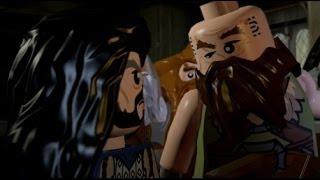 LEGO The Hobbit (PS4) Walkthrough Part 12 - A Warm Welcome