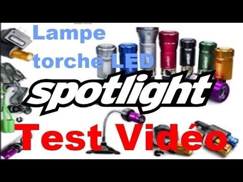 Par Spotlight Test Vidéo Torche Lampe Led xoeCBd