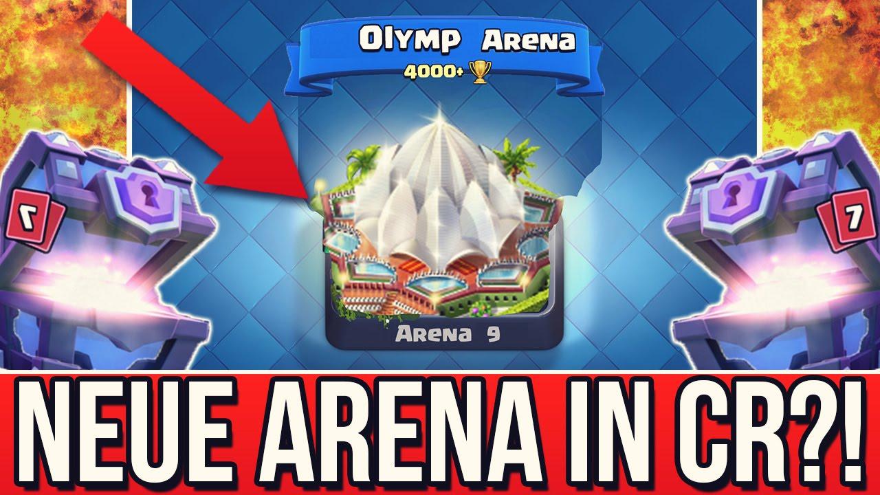 Neue Arena 9 Olymp Arena 4000 Pokale Update