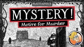 Mystery! Motive for Murder — overview at BGG.CON 2015