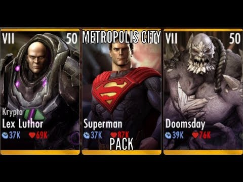Injustice Gods Among Us: The Metropolis City Team