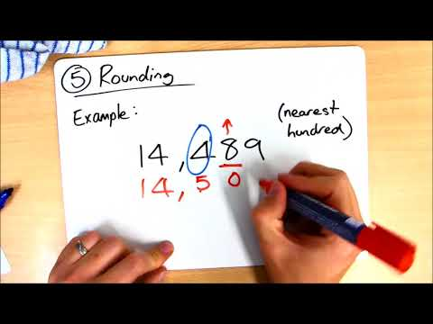 Class 18 - Homework Help - Place Value - Task 5 - Rounding
