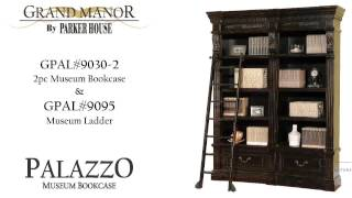 Grand Manor Palazzo Museum Bookcase From Parker House