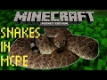 MCPE COMMANDS : Snake Trick