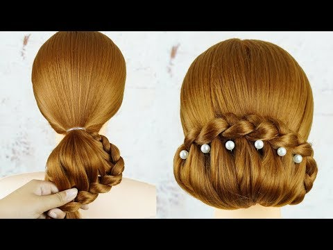Easy Hair Style for Long Hair - Amazing Hairstyles Tutorials | Wedding Hairstyles thumbnail