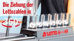 Die Ziehung der Lottozahlen vom 22.04.2020 in 360 Grad