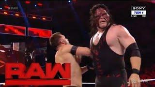 Kane vs Finn balor WWE RAW 23 October highlight