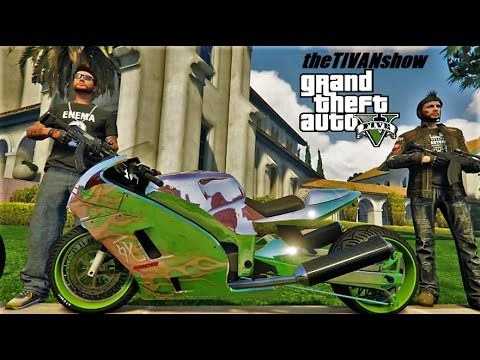 theTIVANshow : GTA5 , BO3 Saturday All Night Live Stream - RUN FOR YOUR LIFE!!! PS4