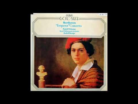 """Beethoven """"Piano Concerto No 5"""" Rudolf Firkusny/Rudolf Kempe"""