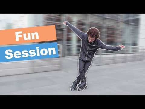 FREESTYLE INLINE SKATING SESSION IN PARIS WITH VLADIMIR