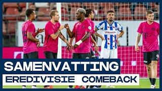 Het regent goals in De Galgenwaard! ⛈ | Samenvatting FC Utrecht - sc Heerenveen | De Comeback
