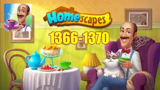 HOMESCAPES Gameplay - Level 1366-1370 (iOS, Android)