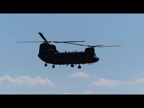 Landung Chinook, Airfield Grafenwöhr