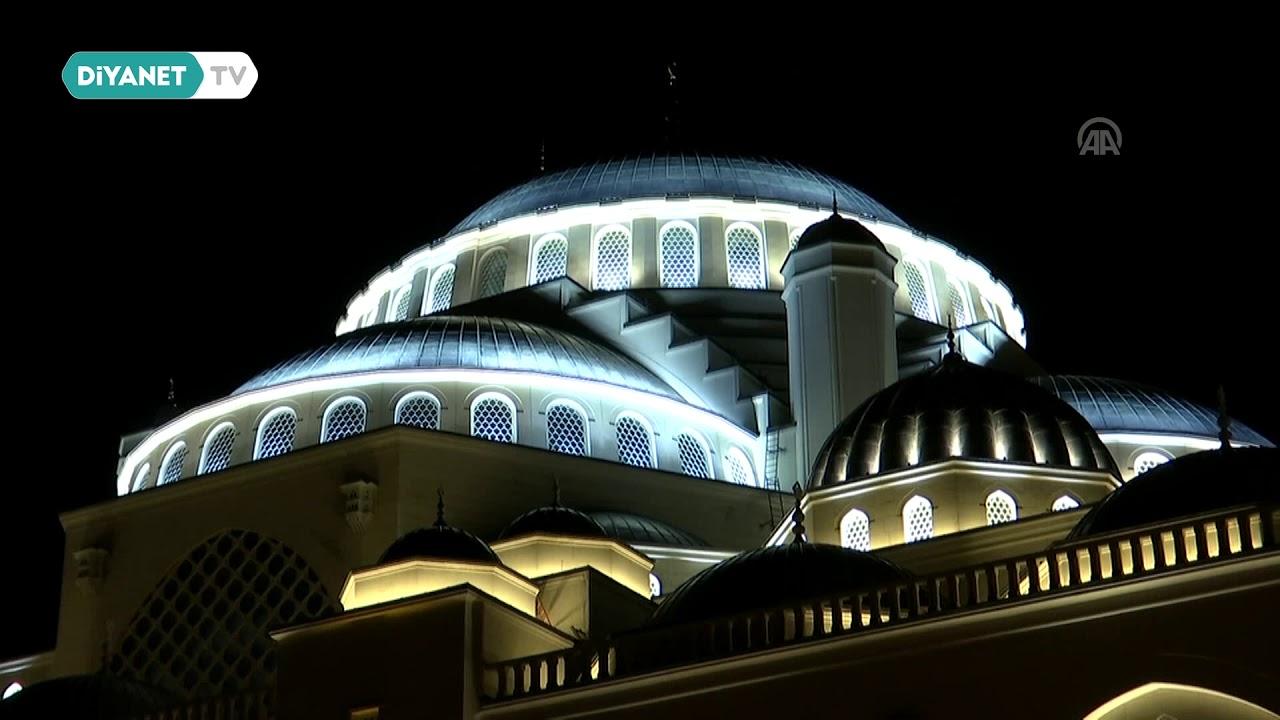 Çamlıca Camii'nde İlk Ezan Bu Sabah Okundu