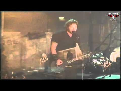 Metallica - Rare - Dirty Window - Bologna (Italy) - 2003