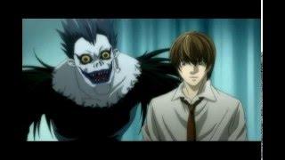 Прикол по аниме Death Note Тетрадь Смерти .Карлсон и Малыш.