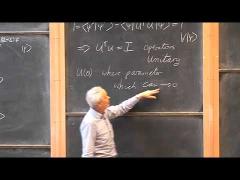 010 Transformation of Kets, Continuous and Discrete Transformations and the Rotation Operator