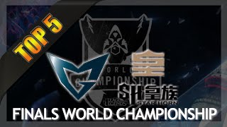 Top 5 Plays - Worlds Final Highlights | SHR vs SSW (Season 4 LoL World Championship)