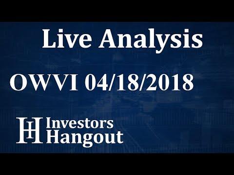 OWVI Stock One World Ventures Inc. Live Analysis 04-18-2018