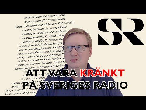 De kränktas upprop på Sveriges Radio