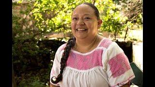 Rocío Moreno, Concejala coca. Comunidad de Mezcala, Jalisco