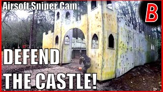 Airsoft Sniper Cam - DEFEND THE CASTLE! | Bodgeups Airsoft