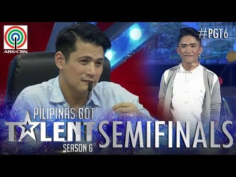 Pilipinas Got Talent 2018 Semifinals: Antonio Bathan Jr. - Spoken Word Poetry