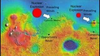 Physicist Claims Evidence of Ancient Nuclear Explosions Ended Life On Mars!
