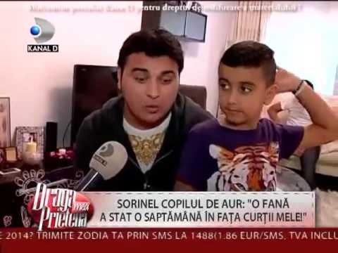 Copilul de Aur - Zeci de admiratoare - KANAL D (Emisiune Tv)