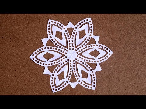 DIY Paper Snowflakes Easy | Paper Snowflakes Challenge | Christmas Paper Snowflake Ornaments