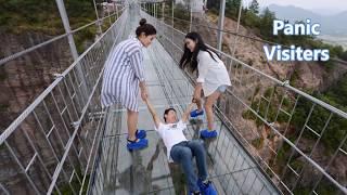 Glass bridge in china - Funny Videos- You Tube