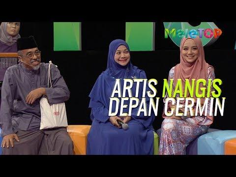 Siapa nak tengok artis nangis depan cermin?  Mira Filzah Sabri Yunus  MeleTOP  Nabil & Neelofa