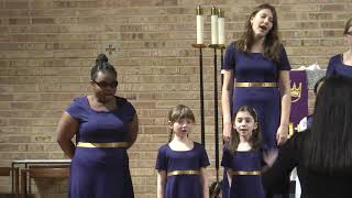 Bring me little water, Sylvie.  Campanella Children's Choir