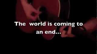 "Tucker Jameson - ""As The World Comes To An End"" TEASER"
