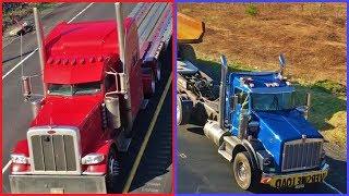 Air Horns Galore! - MEGA Truck Spotting On Route 33!