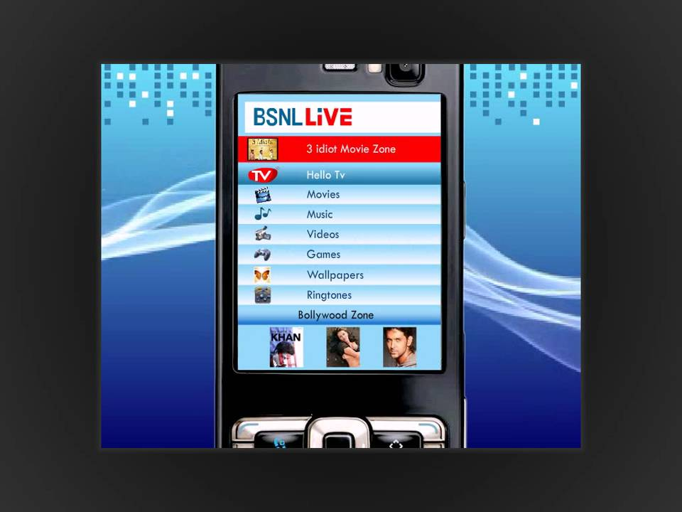 BSNL 3G Mobile - BSNL Live (Value Added Services) !!