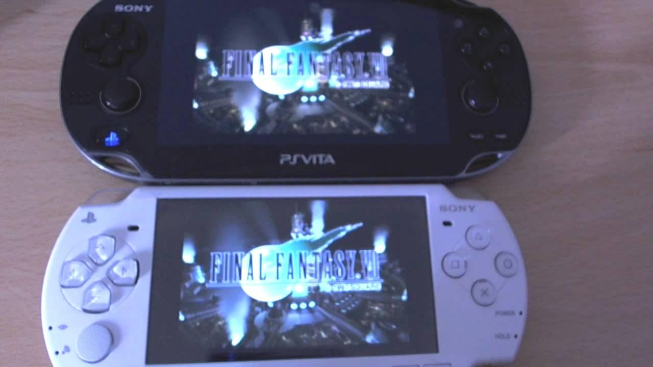 PS1 games on Vita vs PSP