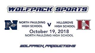 Varsity Football: North Paulding v Hillgrove (10/19/2018)