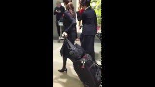 Japanese flight attendants