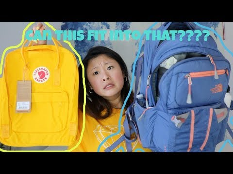 Will My Schoolbag Fit Into A Fjallraven Kanken